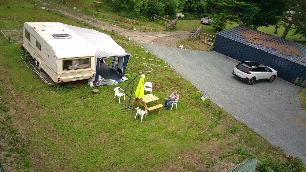 Aire camping-car à Créances (50710) - Photo 1